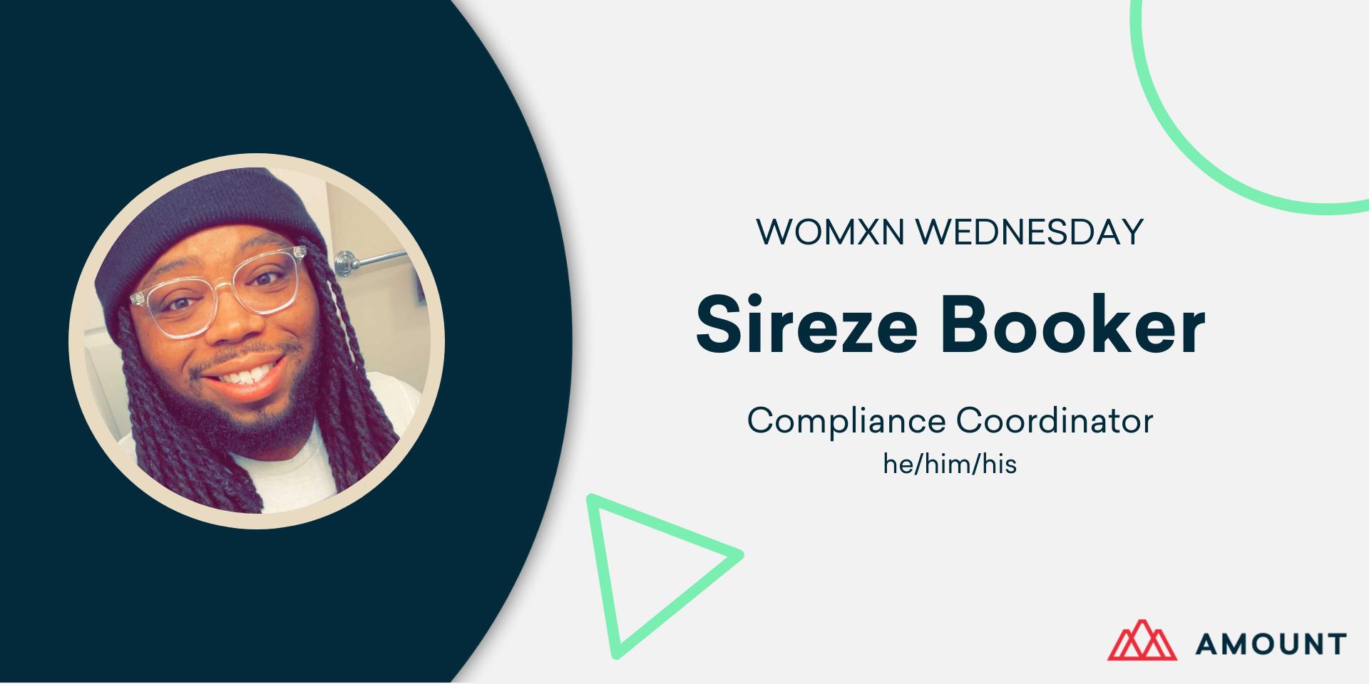 Sireze Booker - Womxn wednesday